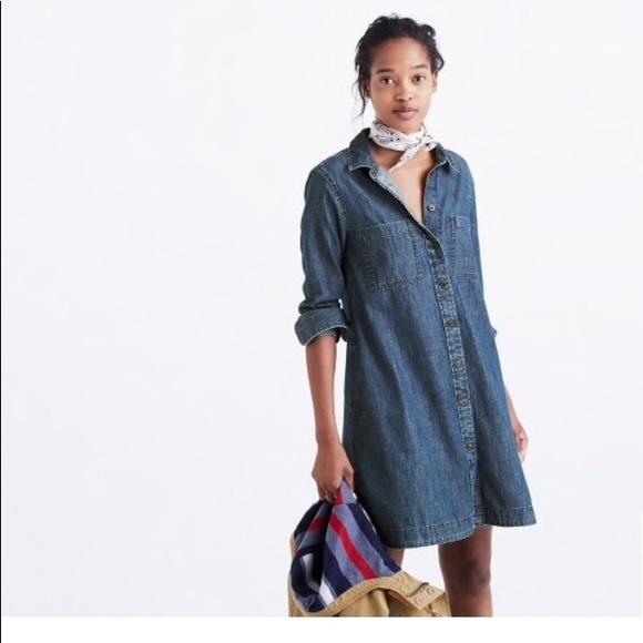 1bb819b60ca Madewell Dresses   Skirts - Madewell Denim Shirtdress